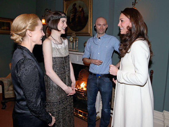 Oops! Joanne Froggatt Reveals the Embarrassing Thing She Said to Princess Kate on the Set of Downton Abbey