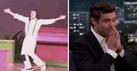 Zac Efron Played A Moonwalking Snoopy In A High School Play