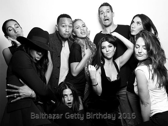 Moms' Night Out! Chrissy Teigen, Kourtney Kardashian and Jenna Dewan-Tatum Party It Up at Balthazar Getty's Birthday Bash