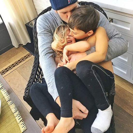 Tom Brady Cuddles With Kids After Patriots' Big Loss In Cute Family Instagram Snap