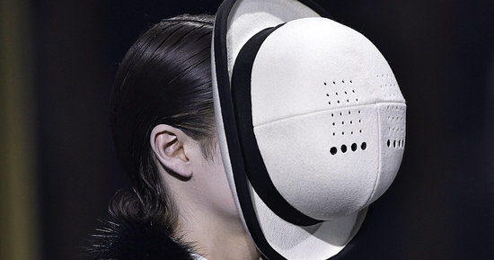 Thom Browne Just Made Face Hats Happen At Paris Fashion Week