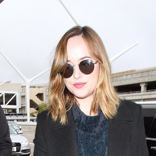 Dakota Johnson Fights Off the Blizzard Blues With Summery Ombré Hair