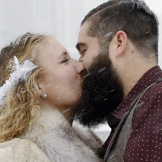 Couple Married During Storm Jonas