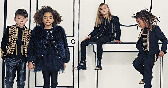 North West's Go-To Designer Balmain to Launch Children's Line