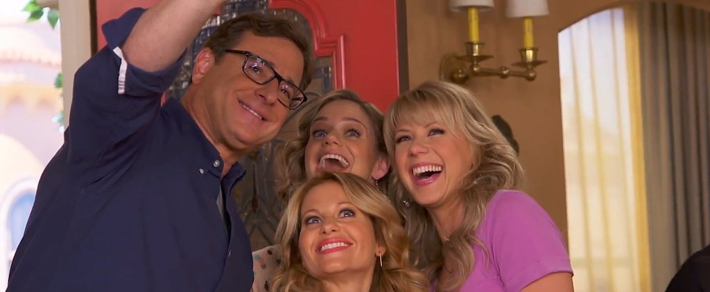 Go Behind the Scenes of Fuller House With the Cast!