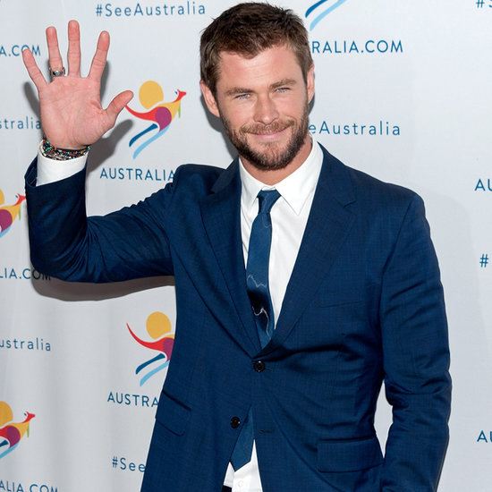 Chris Hemsworth at a Campaign Launch in NYC 2016