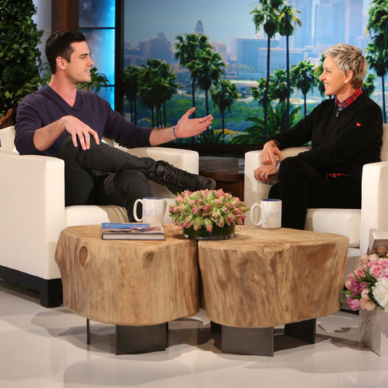 Bachelor Ben Higgins on the Ellen DeGeneres Show Jan. 2016