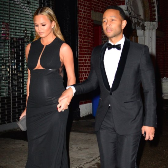 Chrissy Teigen and John Legend Out in NYC January 2016