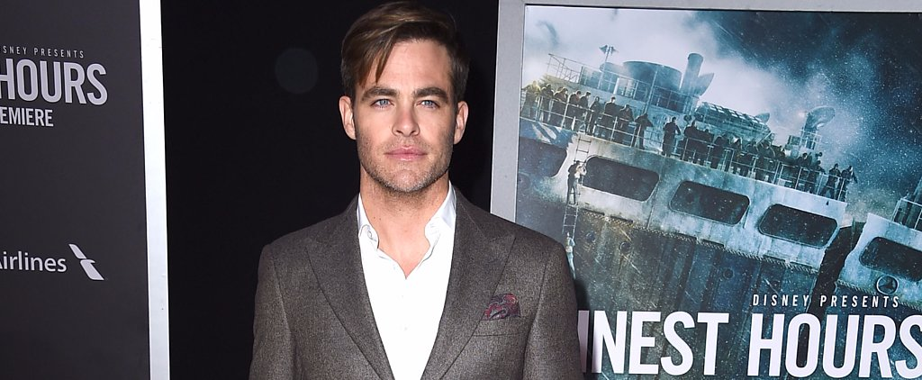 Chris Pine Sizzles on the Red Carpet and Snaps Selfies With Sailors