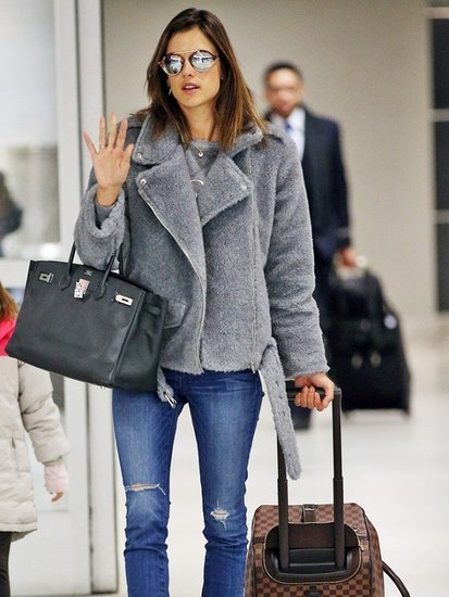 Where to Buy Alessandra Ambrosio's Surprisingly Affordable Coat