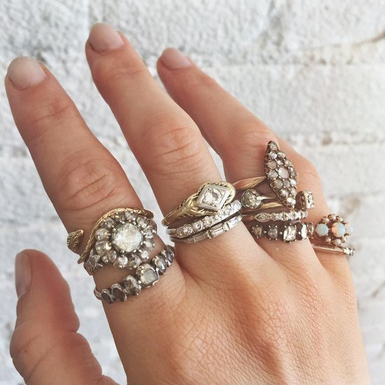 Antique and Vintage Engagement Ring Ideas