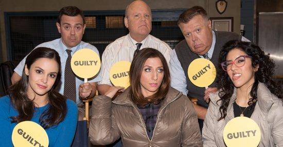 "The Stars Of ""Brooklyn Nine-Nine"" Play A Game Of Cast Superlatives"
