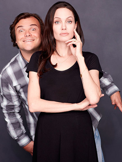Surprise Friendship! Angelina Jolie Pitt Always Celebrates Easter with ... Jack Black?
