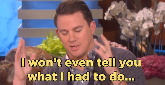 "Channing Tatum Had Never Met Beyoncé Before He Performed With Her On ""Lip Sync Battle"""