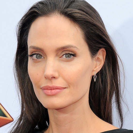 angelina jolie angelina jolie wears the interview dress that belongs ...