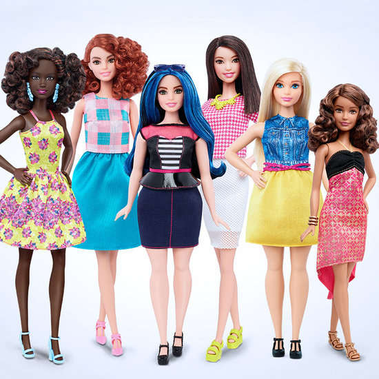 Barbie With New Body Types and Skin Tones