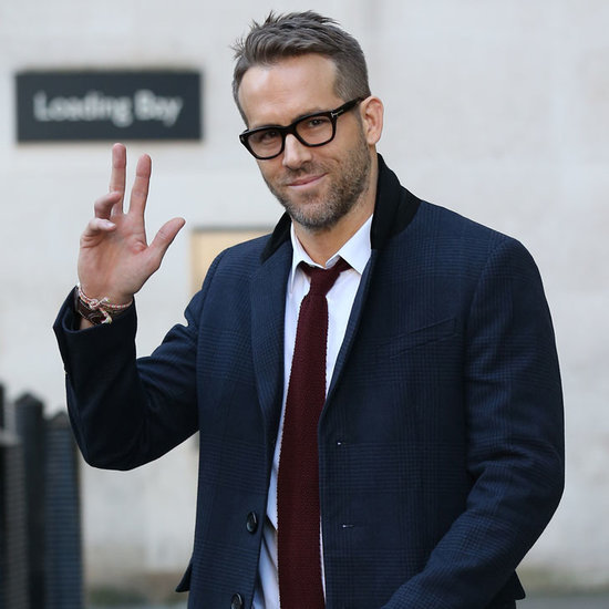 Ryan Reynolds in London January 2016