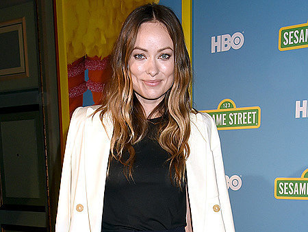 VIDEO: Olivia Wilde Shuts Down Bump Rumors by Congratulating Emily Blunt on Her Actual Pregnancy