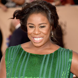Uzo Aduba's Makeup at SGA Awards 2016