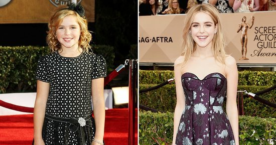 Kiernan Shipka Hits Last SAGs Red Carpet for 'Mad Men': Compare Her First Appearance in 2009 to 2016