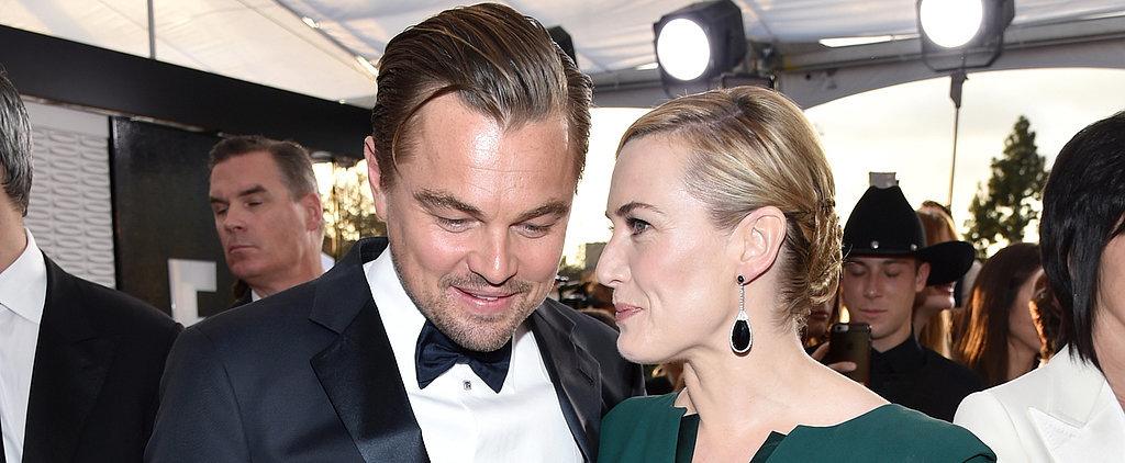 "Kate Winslet Says She's ""So Focused on Leo"" This Award Season"