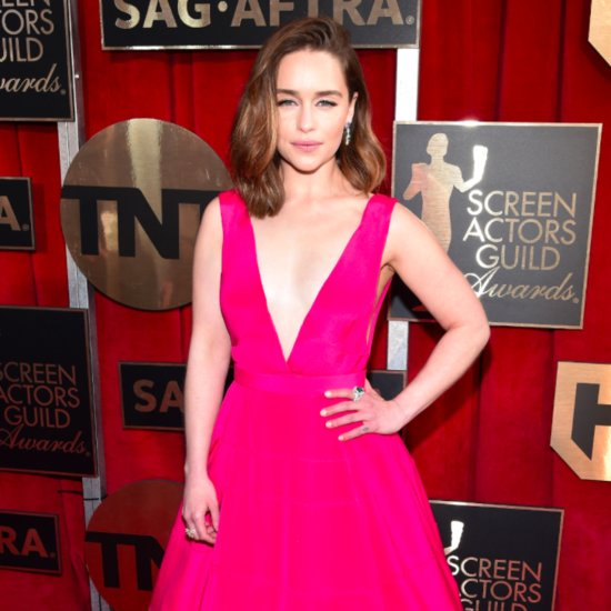 Emilia Clarke's Dress at the SAG Awards 2016