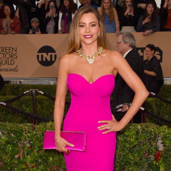 Pink Dresses at the SAG Awards 2016