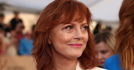 Susan Sarandon Makes A Case For Bras On The Red Carpet