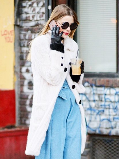 How Jaime King Makes a Jumpsuit Winter-Ready