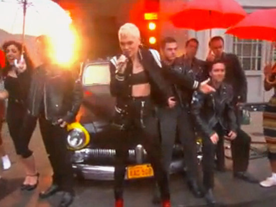 Grease Is the Word! Jessie J and Boyz II Men Brave the Rain to Open Grease: Live