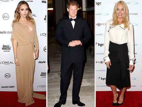 Blonde Ambition! Prince Harry Parties with Cara, Margot and Suki - and a Pink Flamingo