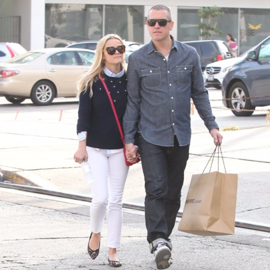 Reese Witherspoon Jim Toth Hold Hands in LA January 2016