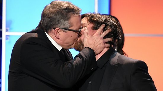 EXCLUSIVE: Adam McKay Explains Why He Made Out With Christian Bale on Live Television