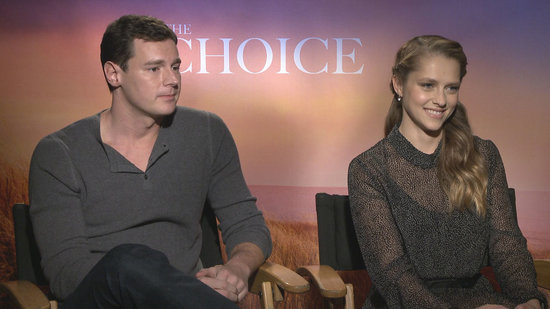 EXCLUSIVE: 'The Choice' Stars on Steamy Love Scenes and Their Dream Nicholas Sparks Co-Stars