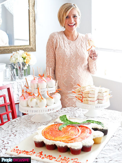 Just Peachy! Christine Lakin Celebrates Southern-Themed Baby Shower: All the Details