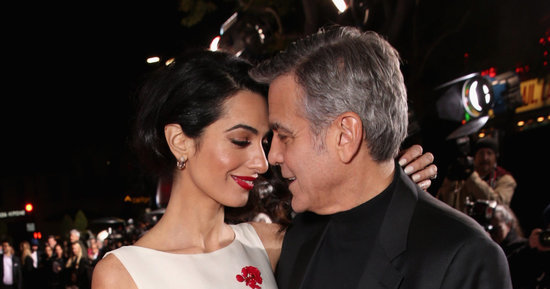 George And Amal Clooney Only Have Eyes For Each Other At 'Hail, Caesar!' Premiere