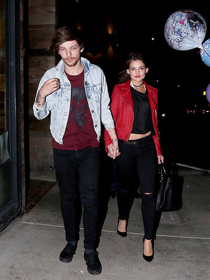 New Dad Louis Tomlinson Holds Hands with Girlfriend on a Sweet Night Out