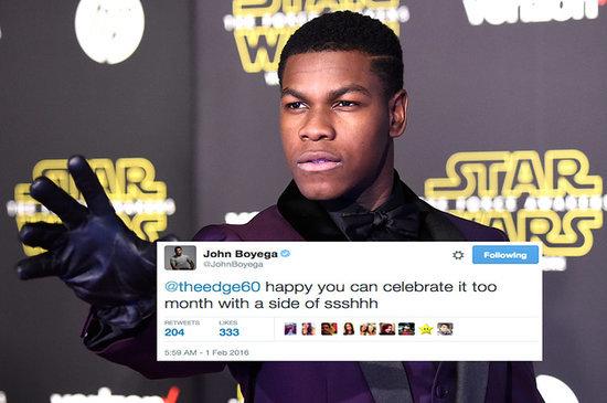 John Boyega Came To The Defense Of Black History Month And It Was Beautiful