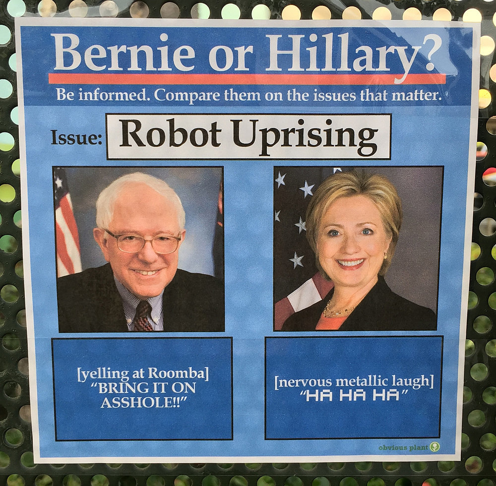 The Robot Uprising (From Obvious Plant)