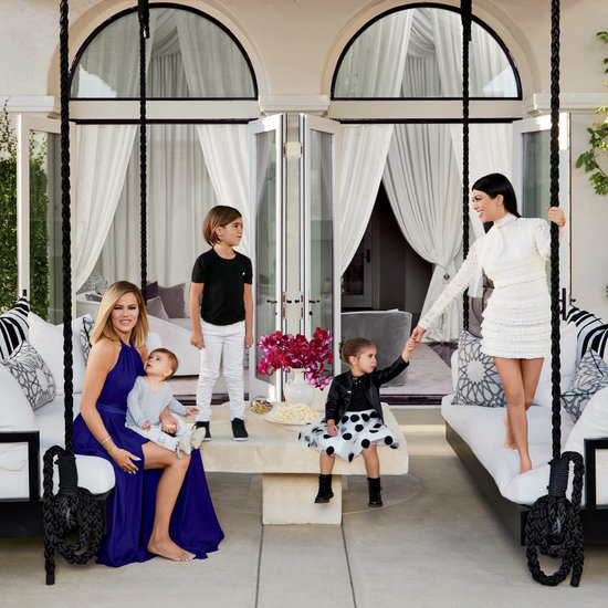 Khloe Kardashian and Kourtney Kardashian House Tour
