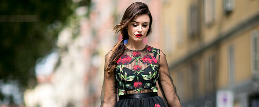 The Edgy Girl's Guide to Wearing a Floral Frock