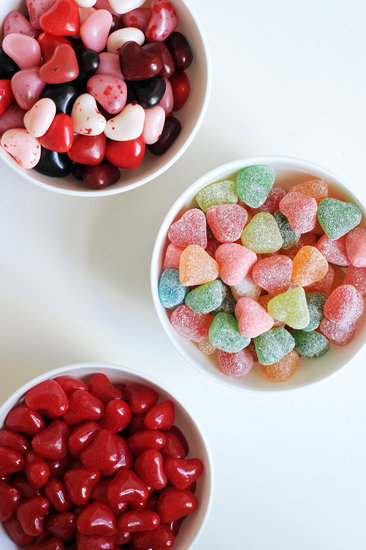 These Photos of 100 Calories of Valentine's Day Candy Will Probably Break Your Heart