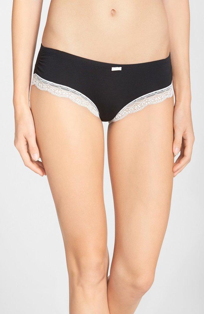 Felina 'Inviting' Lace Trim Hipster Bikini ($12)