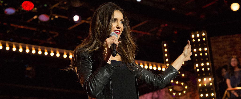 "Nina Dobrev's Sizzling Performance of ""Let's Get It On"" Will Force You to Turn on the AC"