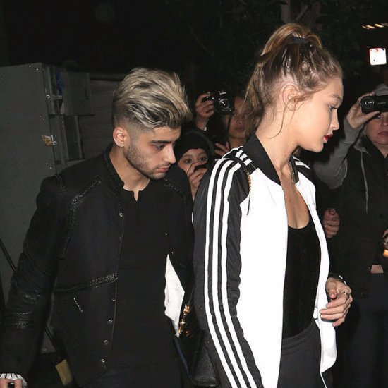 Gigi Hadid and Zayn Malik Out in LA February 2016