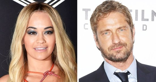 Rita Ora and Gerard Butler Hooked Up at a West Hollywood Hotel!