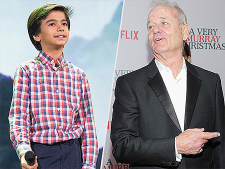 VIDEO: The Jungle Book Star Neel Sethi Shares His Amazing Football Game with Bill Murray