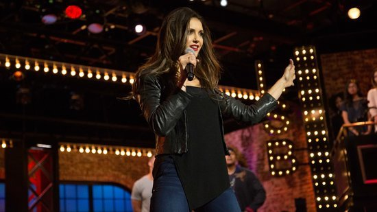 Nina Dobrev Grinds on Tim Tebow in the Sexiest 'Lip Sync Battle' Yet!