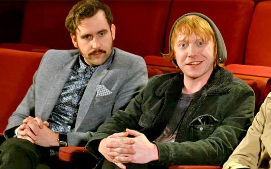 FROM EW: Harry Potter Stars Geek Out Over Fantastic Beasts