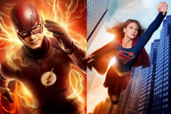 'Supergirl' and 'The Flash' Crossover Event Coming in March